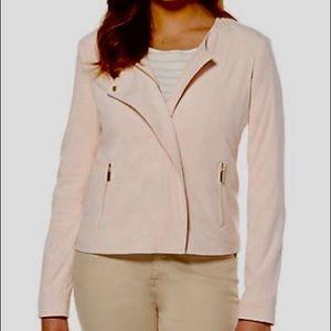 Women's Rafaella pink blazer size 4 New